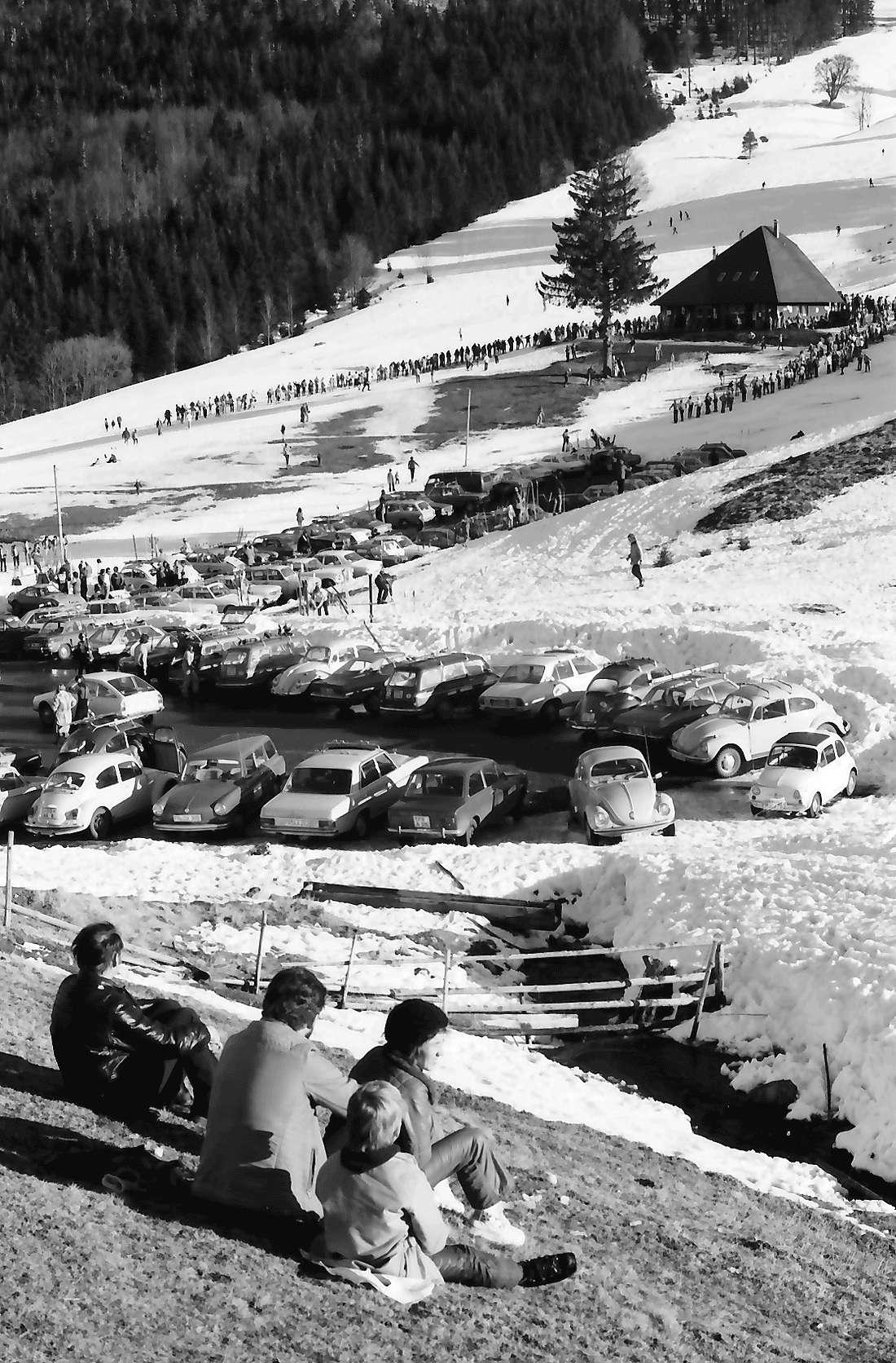 Oberried: Wintersportbetrieb vor der Stollenbacher Hütte, Bild 2