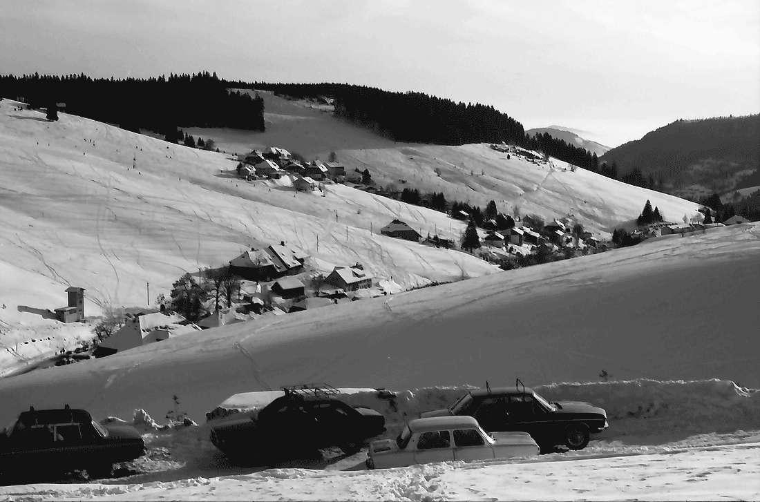 Todtnauberg: Gesamtansicht ins Tal von Büreten, Bild 2