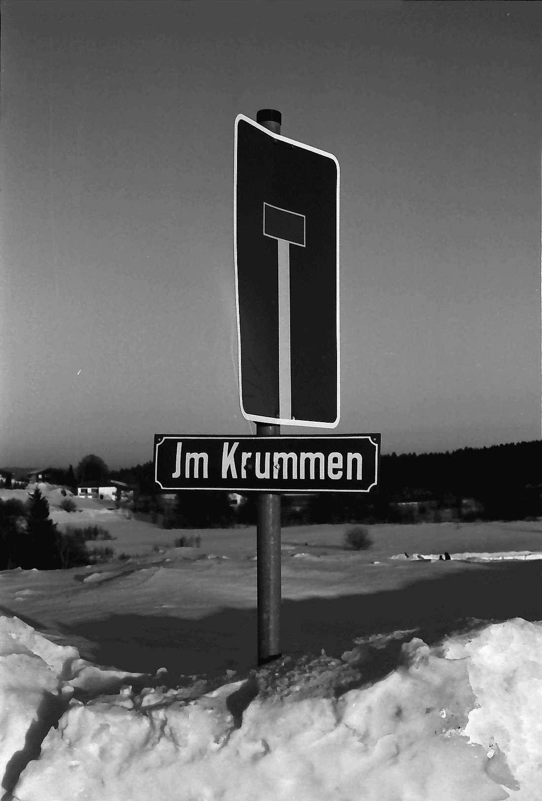 """Höchenschwand: Sackgasse """"Im Krummen"""", Bild 1"""