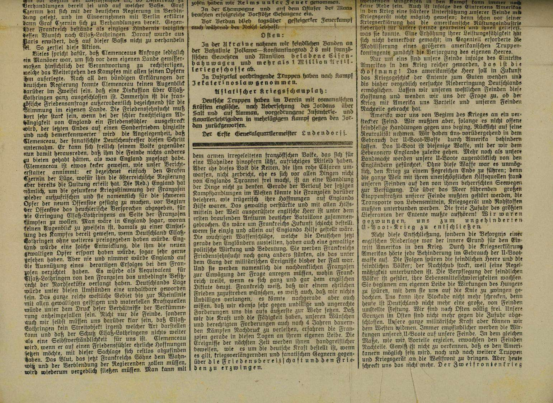 Pressezensur im Ersten Weltkrieg, Bild 2