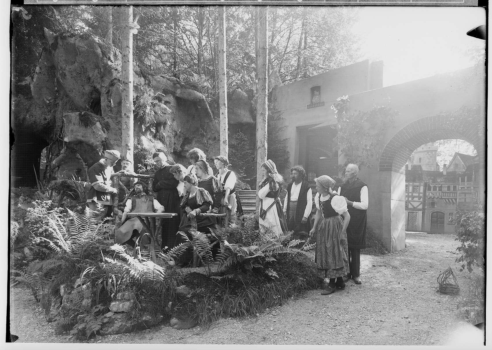 Waldbühne Sigmaringendorf - Die versunkene Glocke (Gerhard Hauptmann); Szenenbild, Bild 1