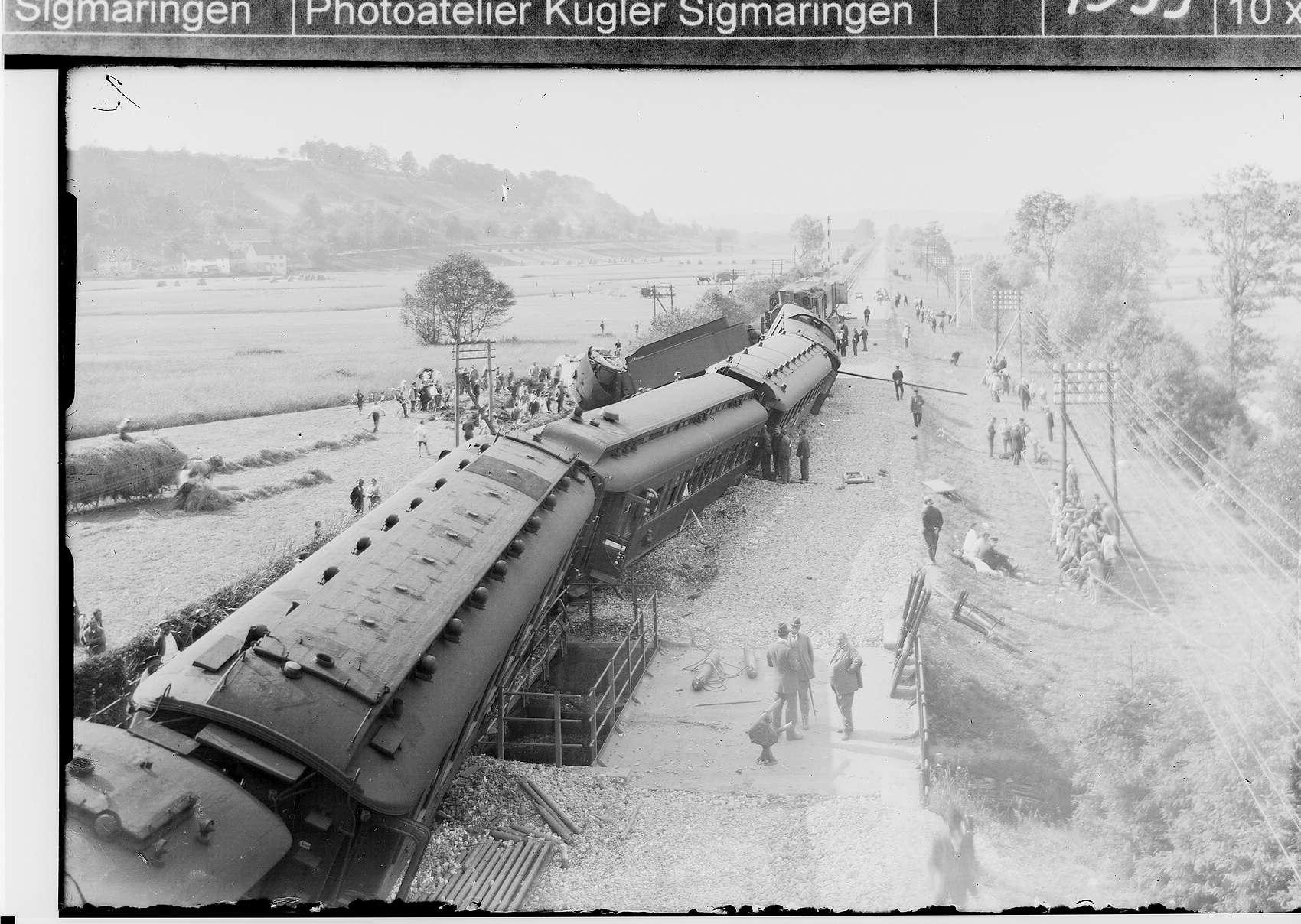 Zugunglück Ummendorf, Bild 1