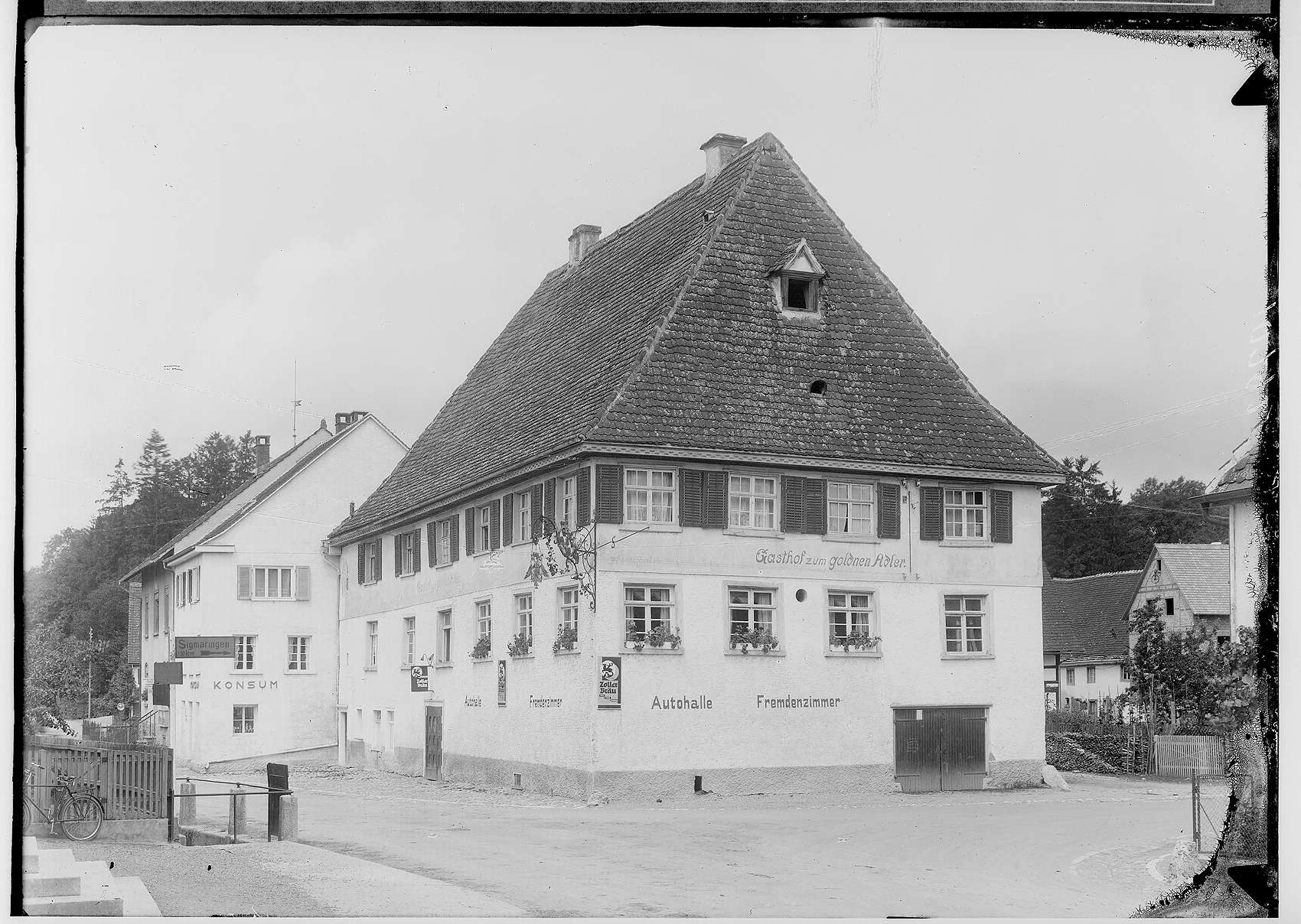 Gasthof zum Goldenen Adler in Krauchenwies, Bild 1