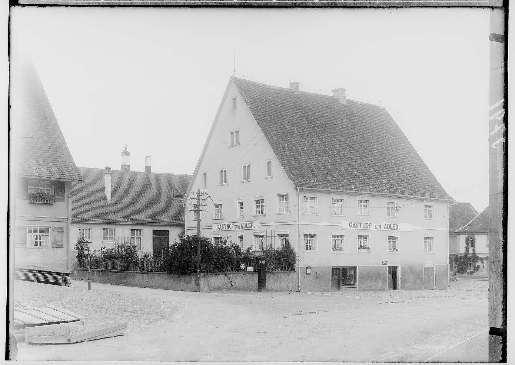 Ostrach; Gasthof zum Adler, Bild 1
