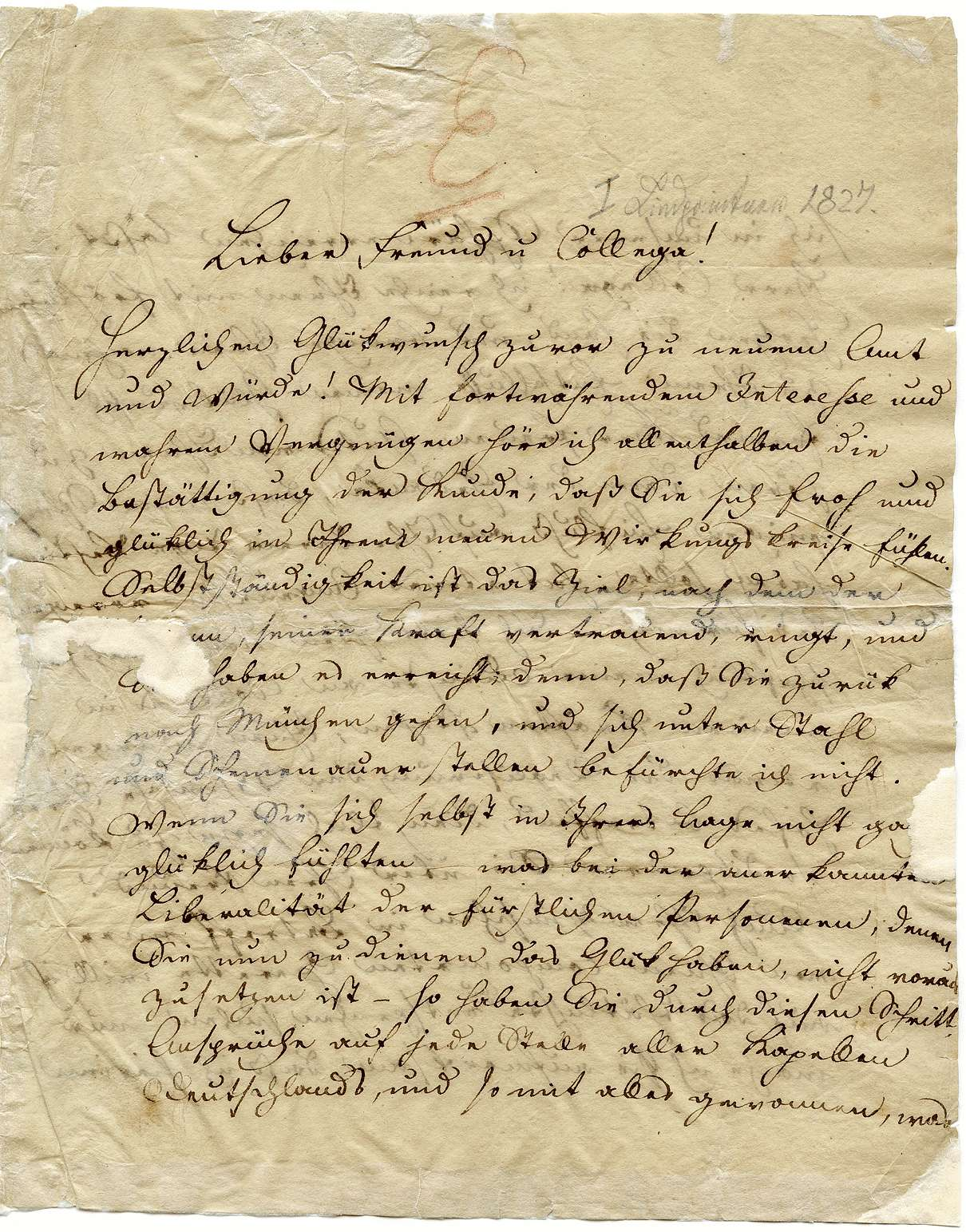 Peter Joseph von Lindpaintner, Seite 1