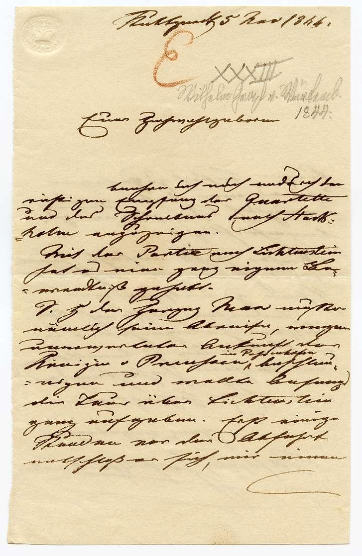 Wilhelm Graf von Württemberg, Seite 1