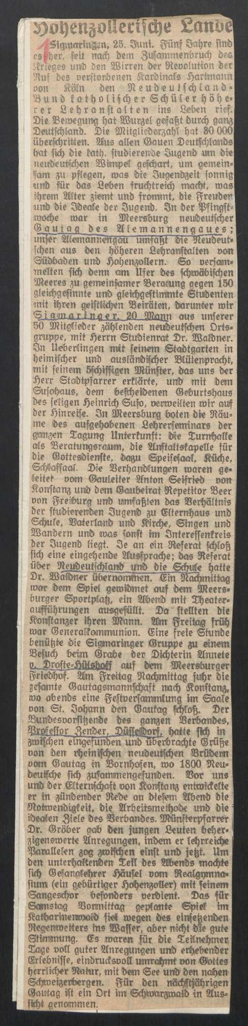 Jugendverein Neu-Deutschland (1921 - 1932), Bild 3
