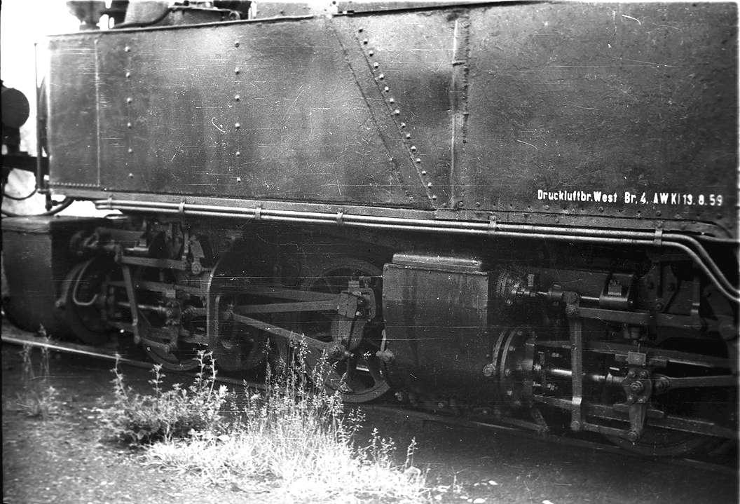 """Buchau, Schmalspurlok, Betriebs-Nr. 99 633, Niederdruck- und Hochdruckzylinder System """"Mallet"""", Esslingen 1899, Bild 1"""