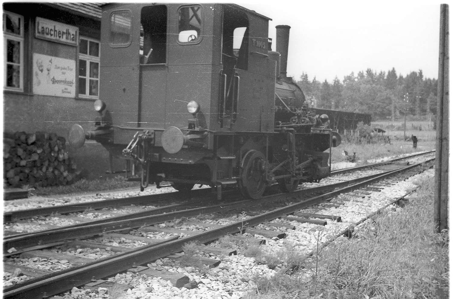 "Laucherthal, Lok ""Rosa"", erbaut 1899 in Heilbronn als württ. T1005, Bild 1"