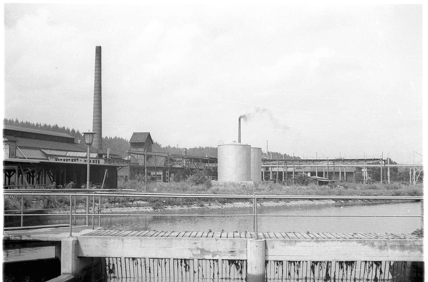 Ansicht des Hüttenwerks Laucherthal, Bild 1