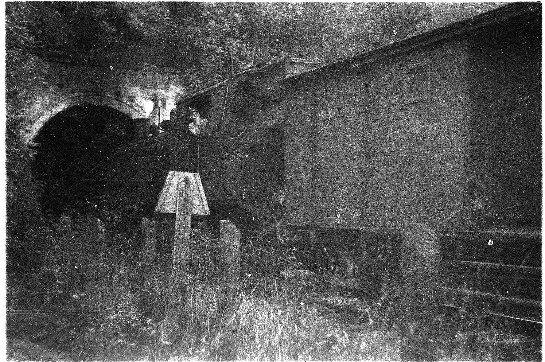 Veringenstadt, Lok 15, Güterzug 313, Tunnel erbaut 1908, Bild 1