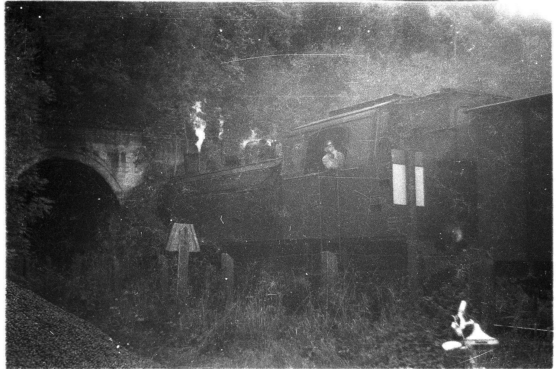 Veringenstadt, Lok 15, Güterzug 313, Lokführer Josef Vatterodt (1898 - 1968), Bild 1
