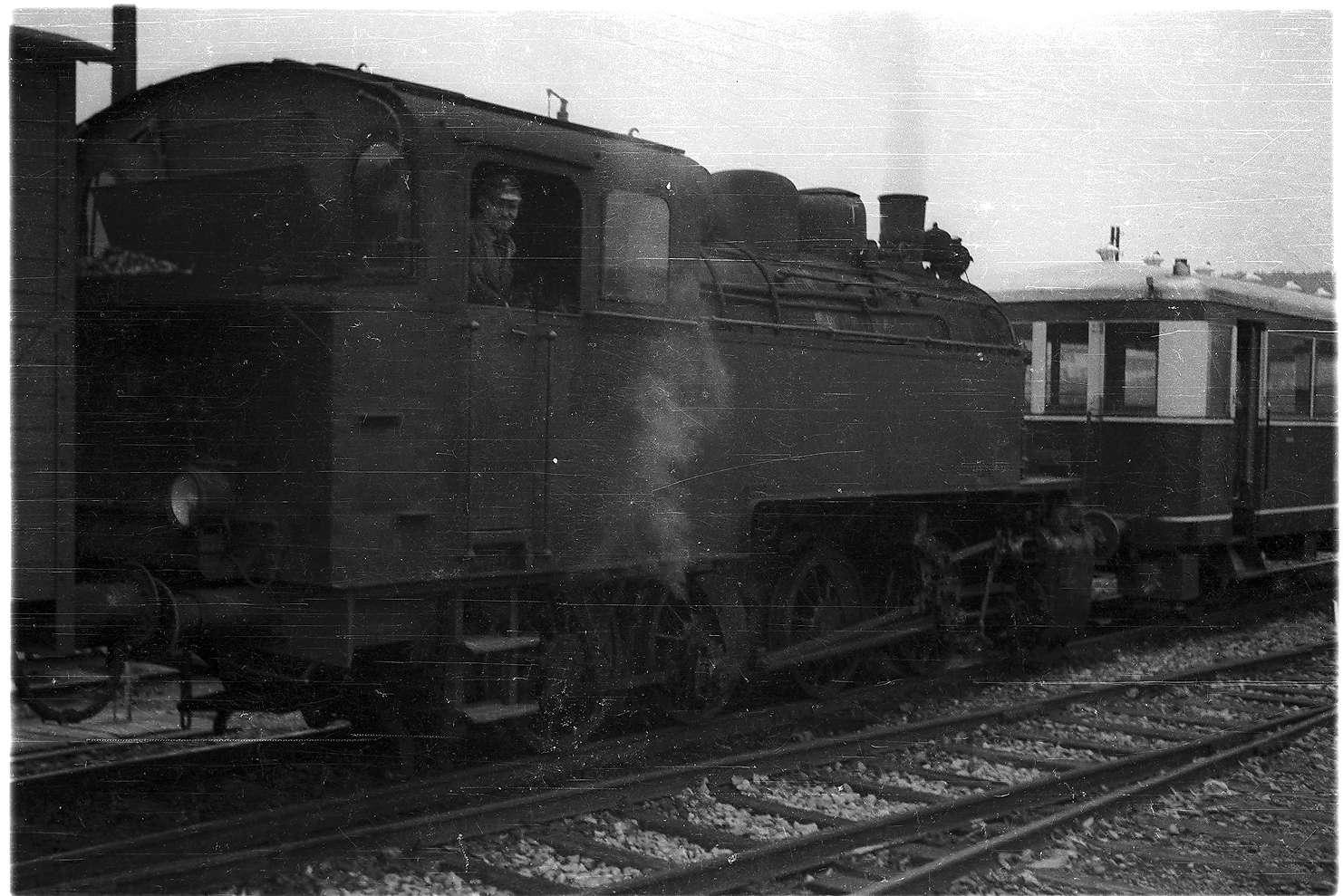 Gammertingen, Lok 16, erbaut 1928 bei AEG Berlin, Bild 1