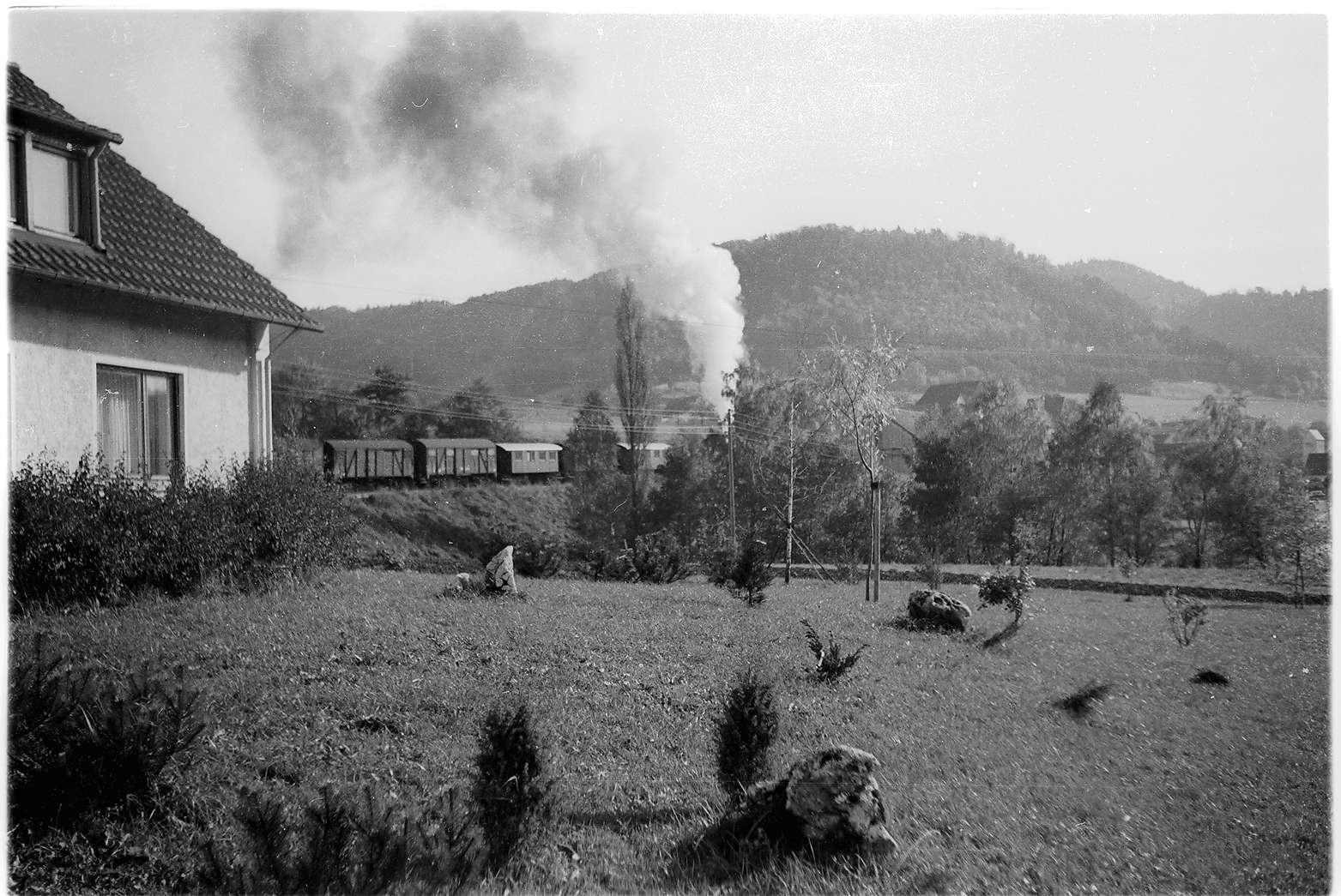 Strecke Jungingen - Killer, beim Weinhändler Mauri, den es 2009 noch gibt, Bild 1