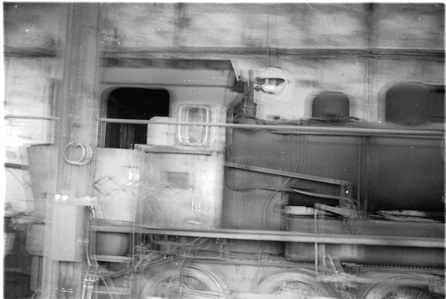 Gammertingen, Bahnbetriebswerkstätte, Schuppen 1, Lok 141 (1929 - 1965), ELNA-Type 1