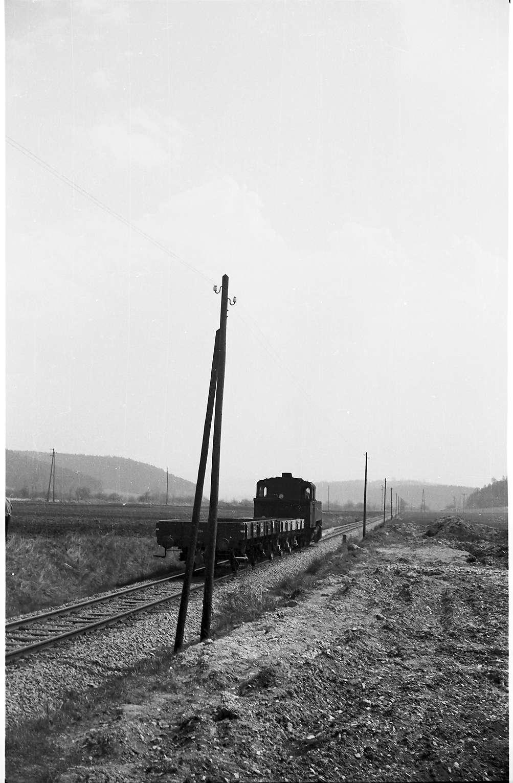 Lok 16, Az 405 Baustelle Rangendingen, Bild 1