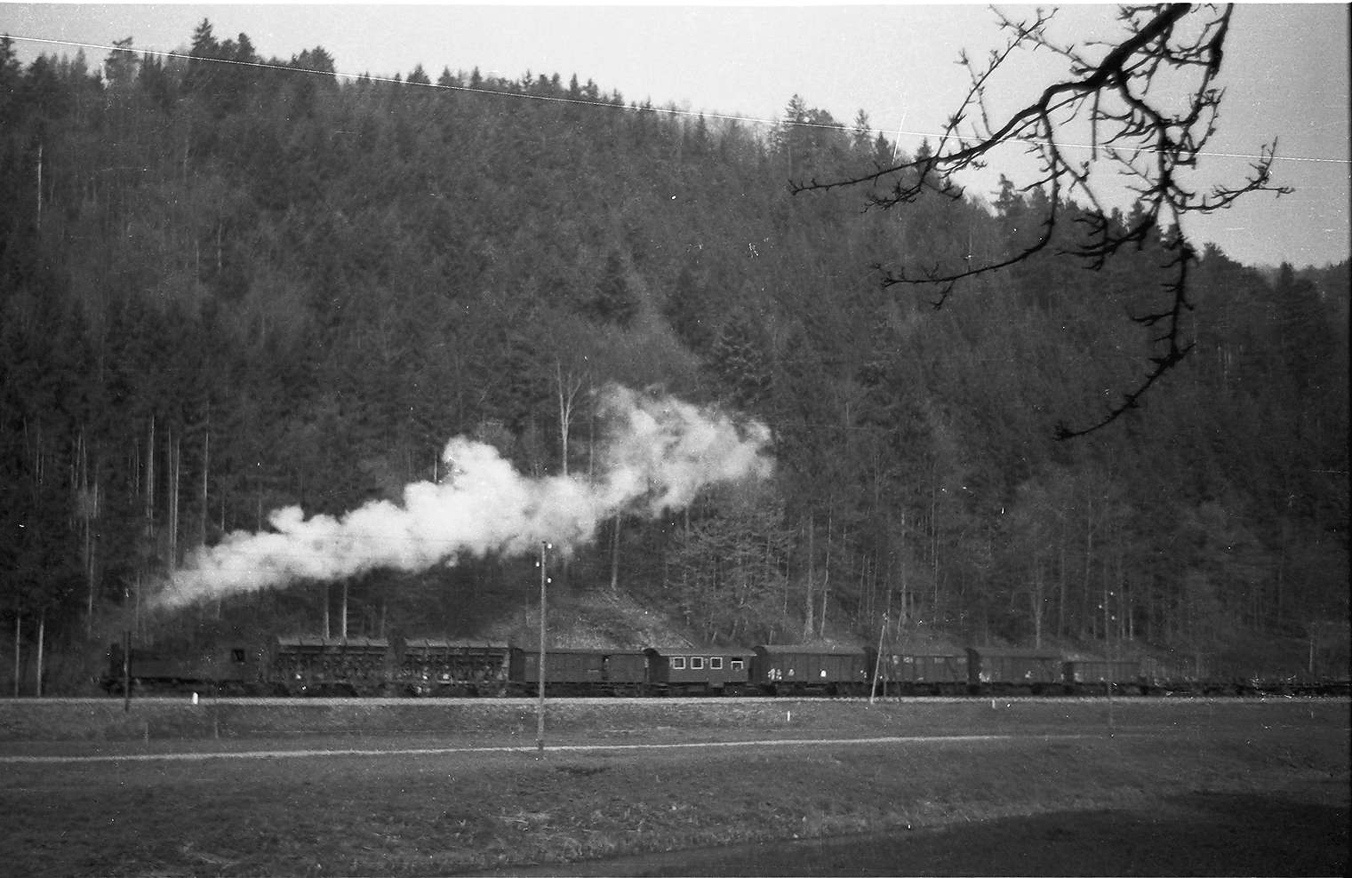 Lok 21, G(St) 305, Strecke Mühringen - Bad Imnau, Eyachtal, Bild 1