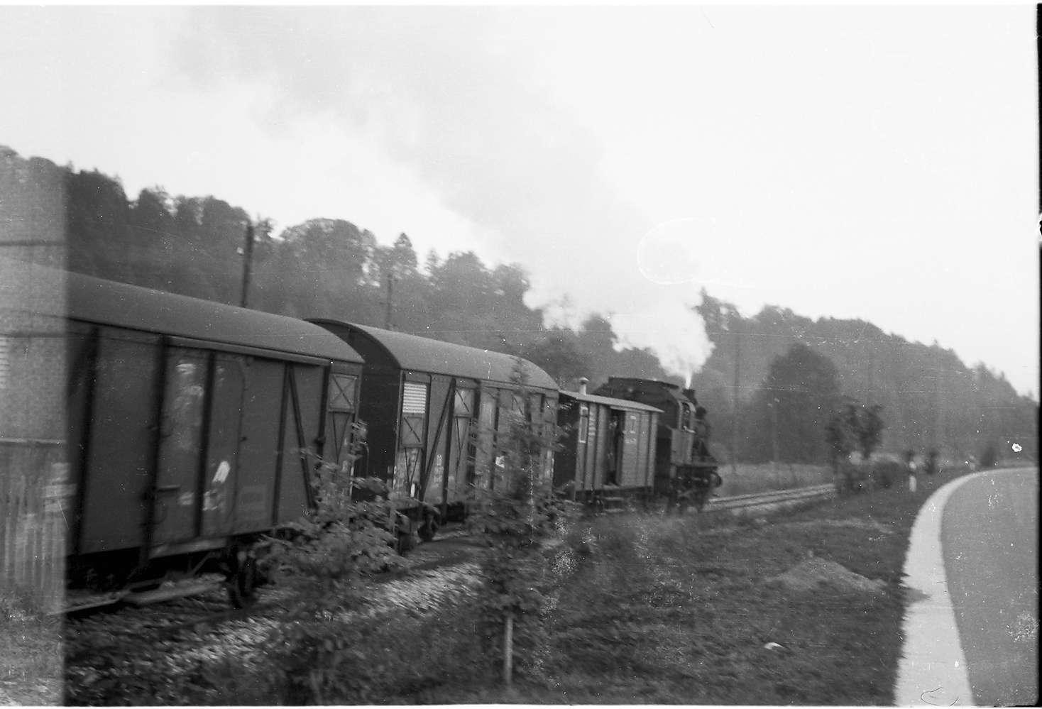 Lok 141, Strecke Laucherthal - Sigmaringendorf, Bild 1