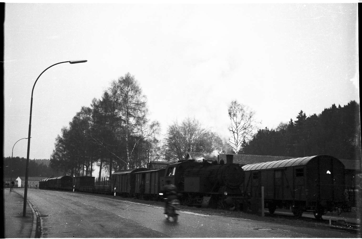 Lok 15, Güterzug 313, Strecke Laucherthal - Sigmaringendorf, Bild 1