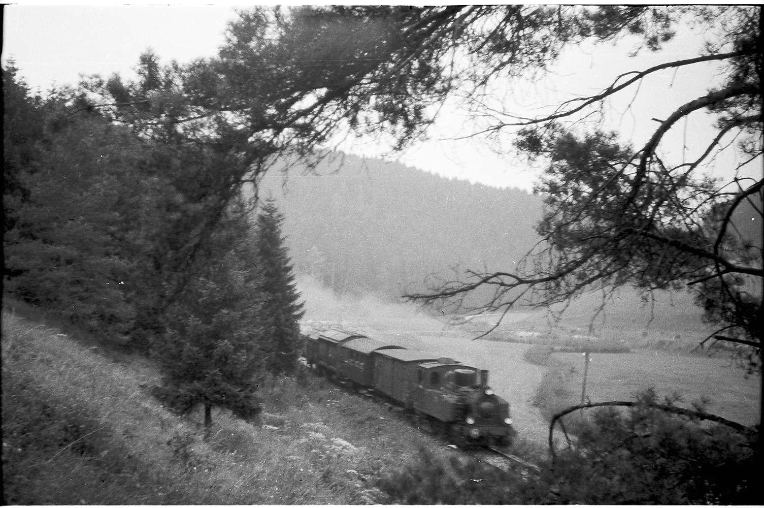 Lok 11, Strecke Hasental - Trochtelfingen, so genannte Kuppenalb, Bild 1