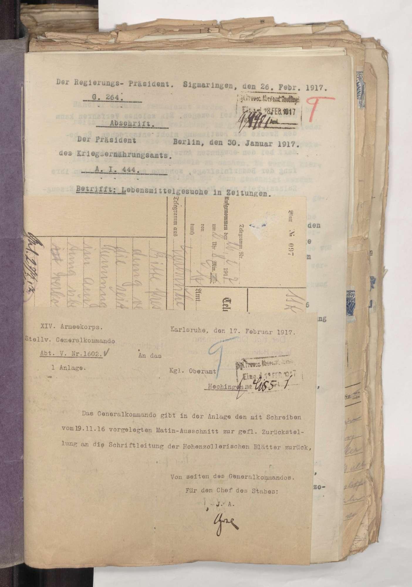 Presse-Zensur im Kriege 1914 - 1918 mit Weisungen für die Presse, Bild 2