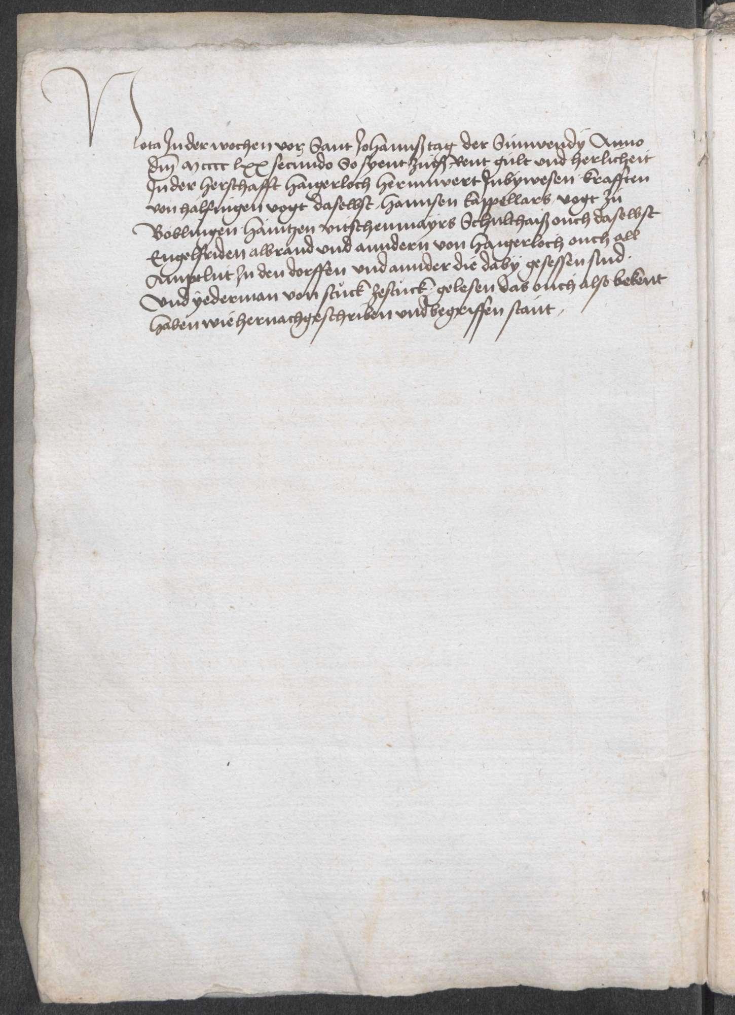 """Haigerloch: """"Hayerloch Urbarbuch"""" von 1472; Urbar der Herrschaft Haigerloch, Bild 3"""