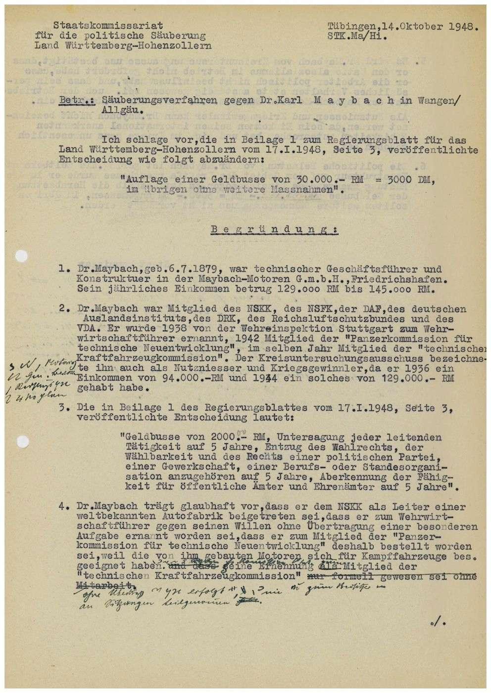 Maybach, Karl, Dr., Bild 1