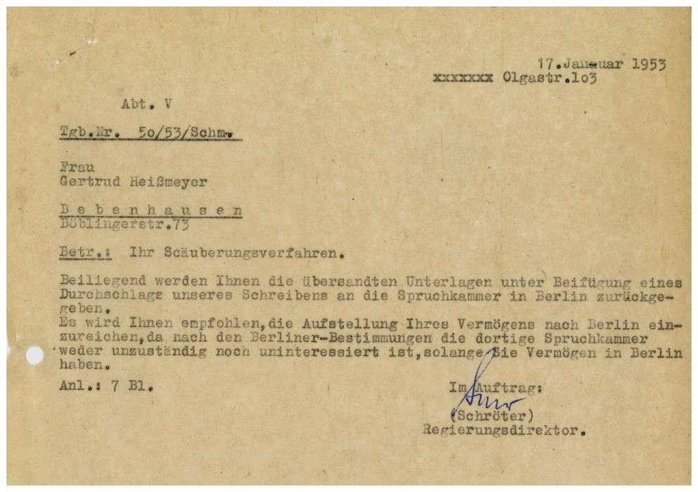Heißmeyer (Scholtz-Klink), Gertrud, Bild 1