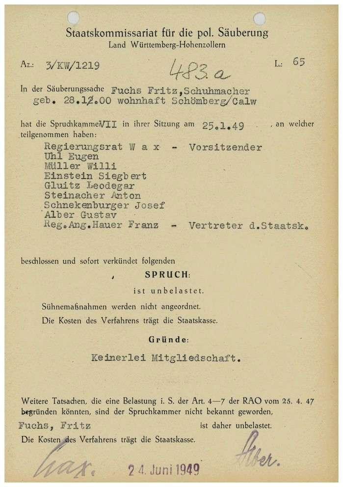 Fuchs, Fritz, Bild 1