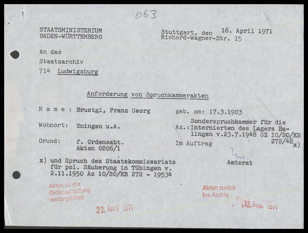 Brustgi, Franz Georg, Bild 1
