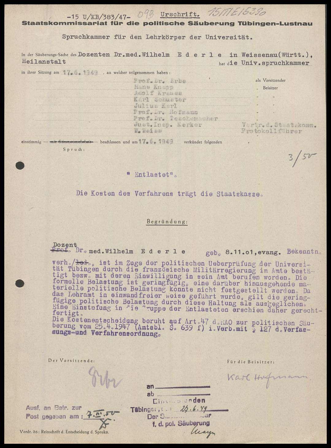 Ederle, Wilhelm, Dr. med., Bild 1