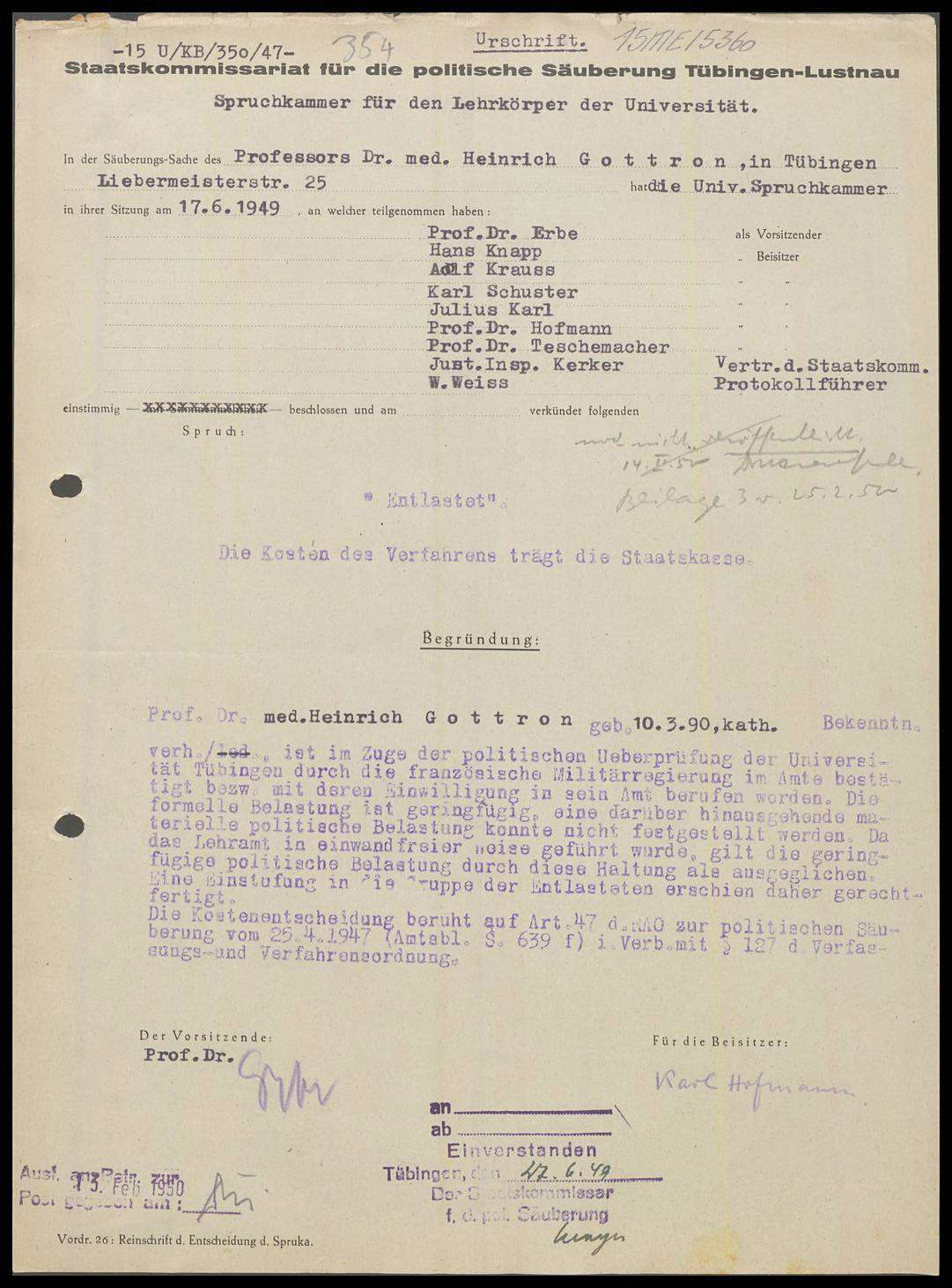 Gottron, Heinrich, Prof. Dr. med., Bild 1