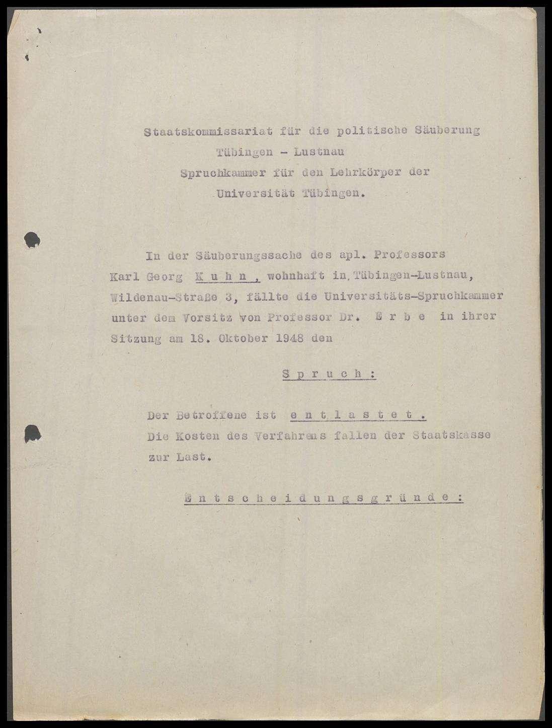Kuhn, Karl Georg, Prof., Bild 2