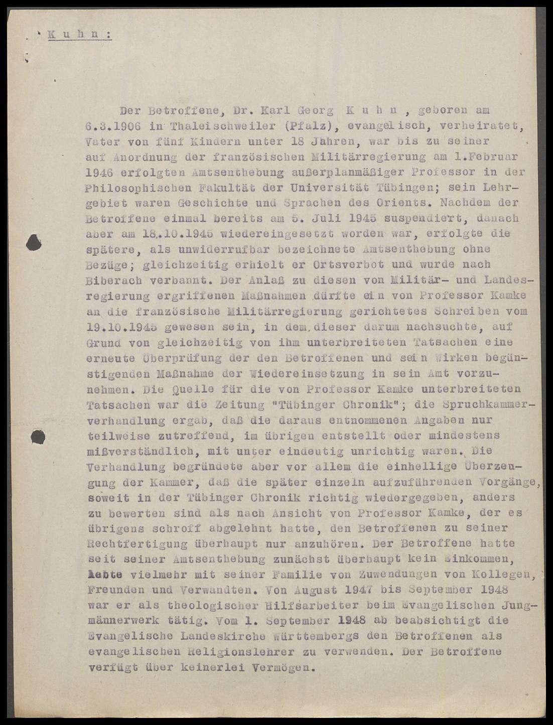 Kuhn, Karl Georg, Prof., Bild 3