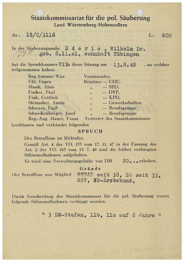 Ederle, Wilhelm, Dr., Bild 1