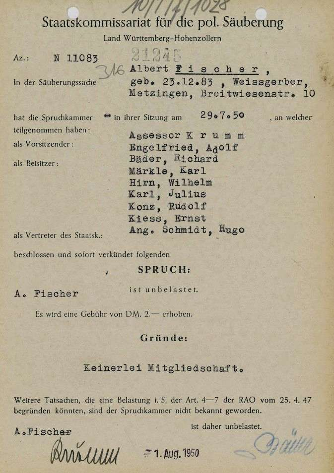 Fischer, Albert, Bild 1