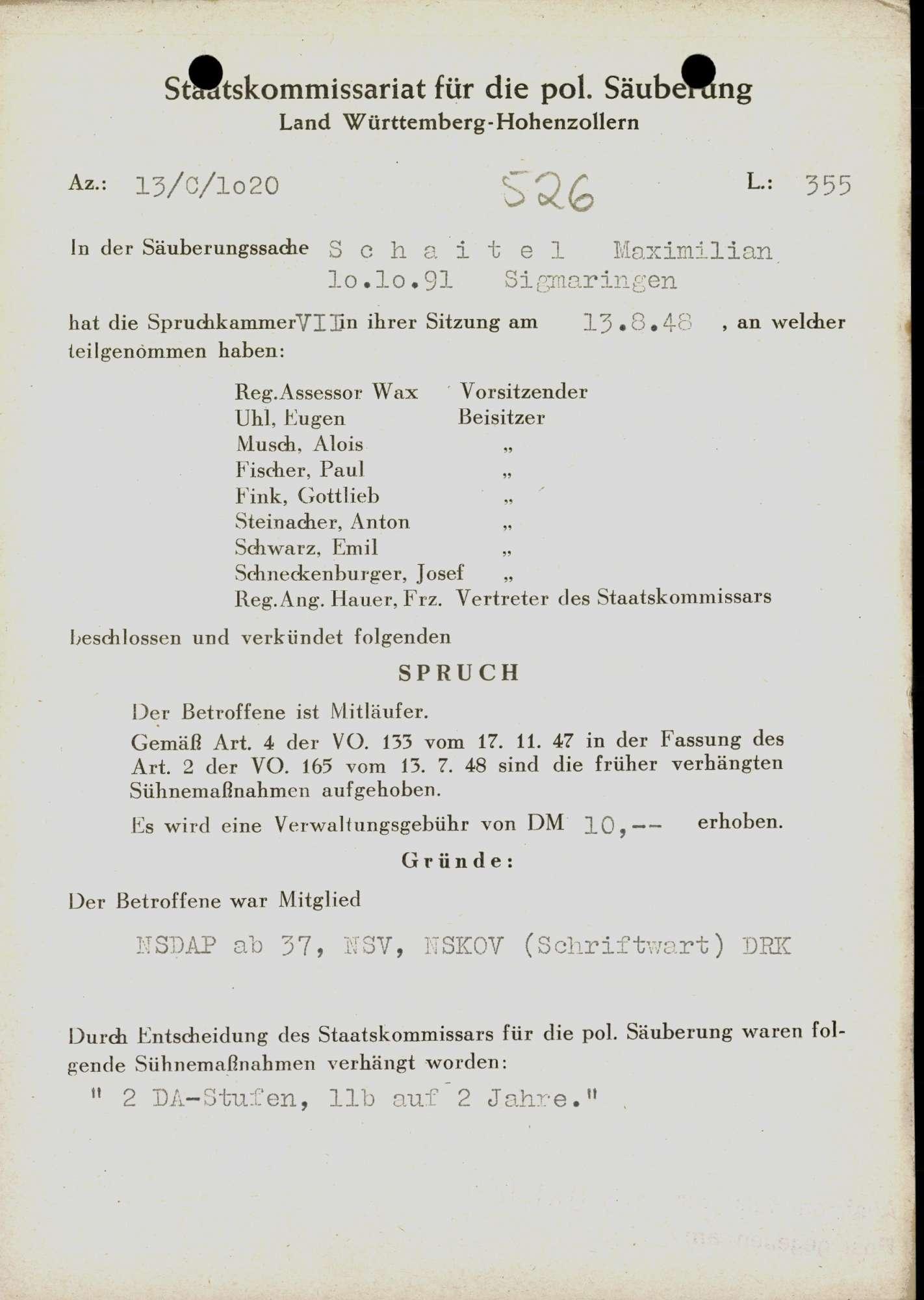 Schaitel, Maximilian, Bild 1