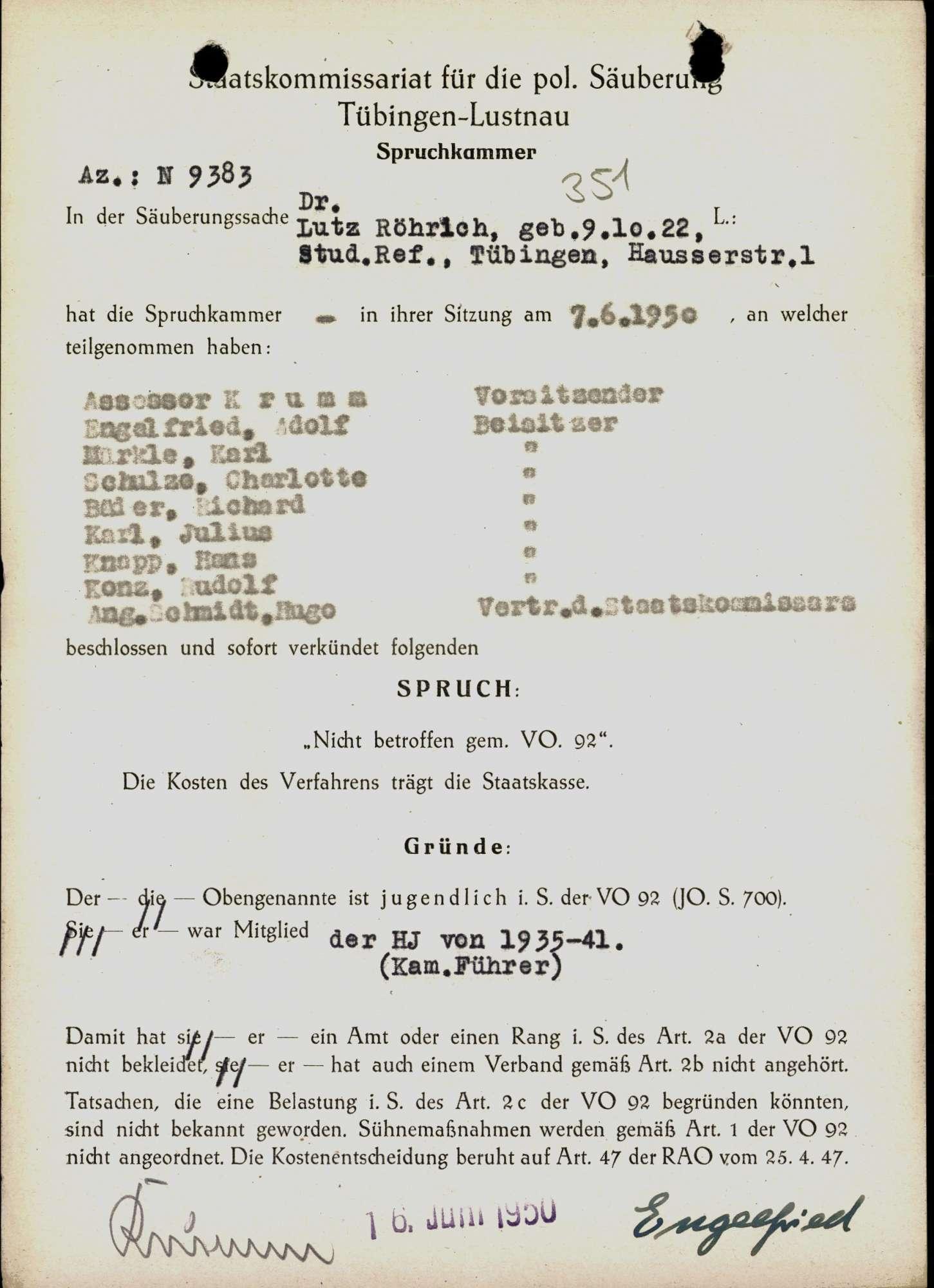 Röhrich, Lutz, Dr., Bild 1