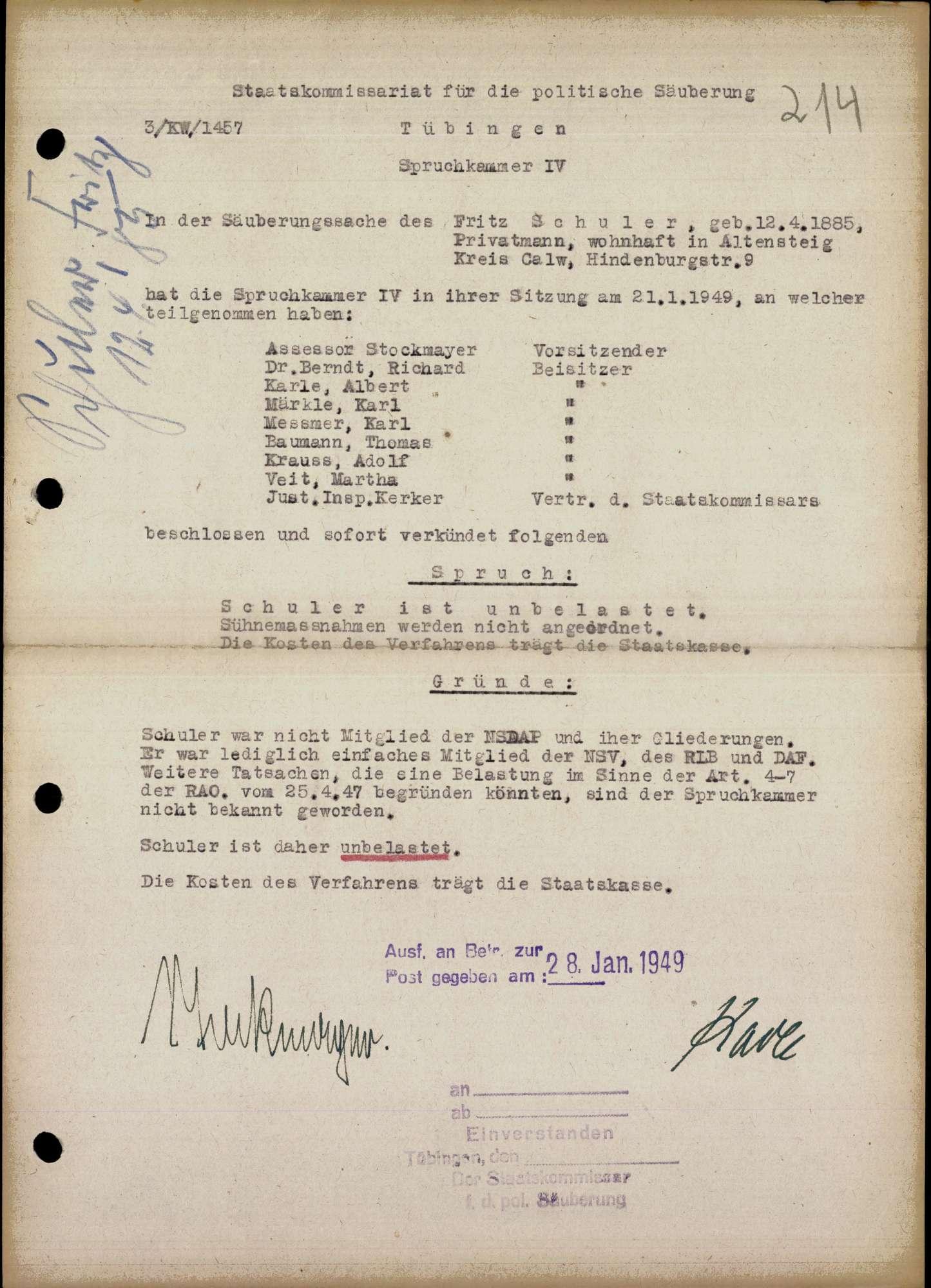 Schuler, Fritz, Bild 1