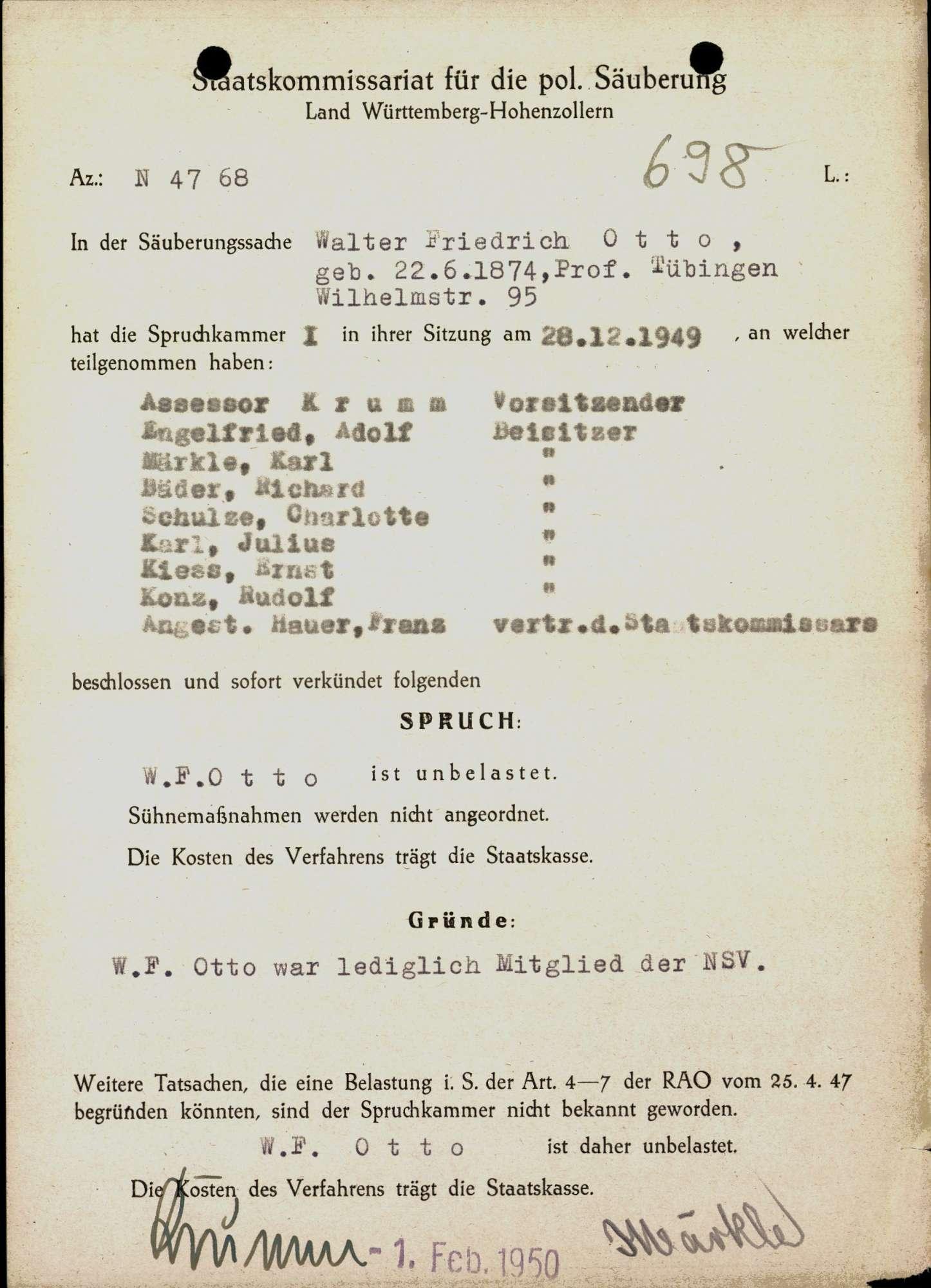 Otto, Walter Friedrich, Bild 1