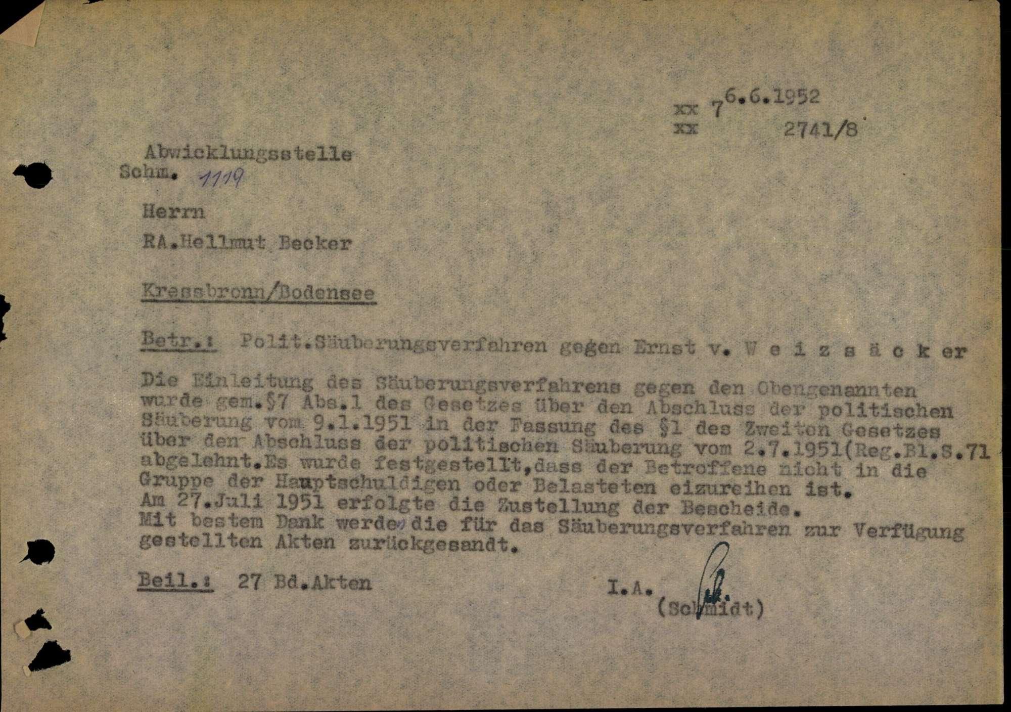 Weizsäcker, Ernst von, Bild 3
