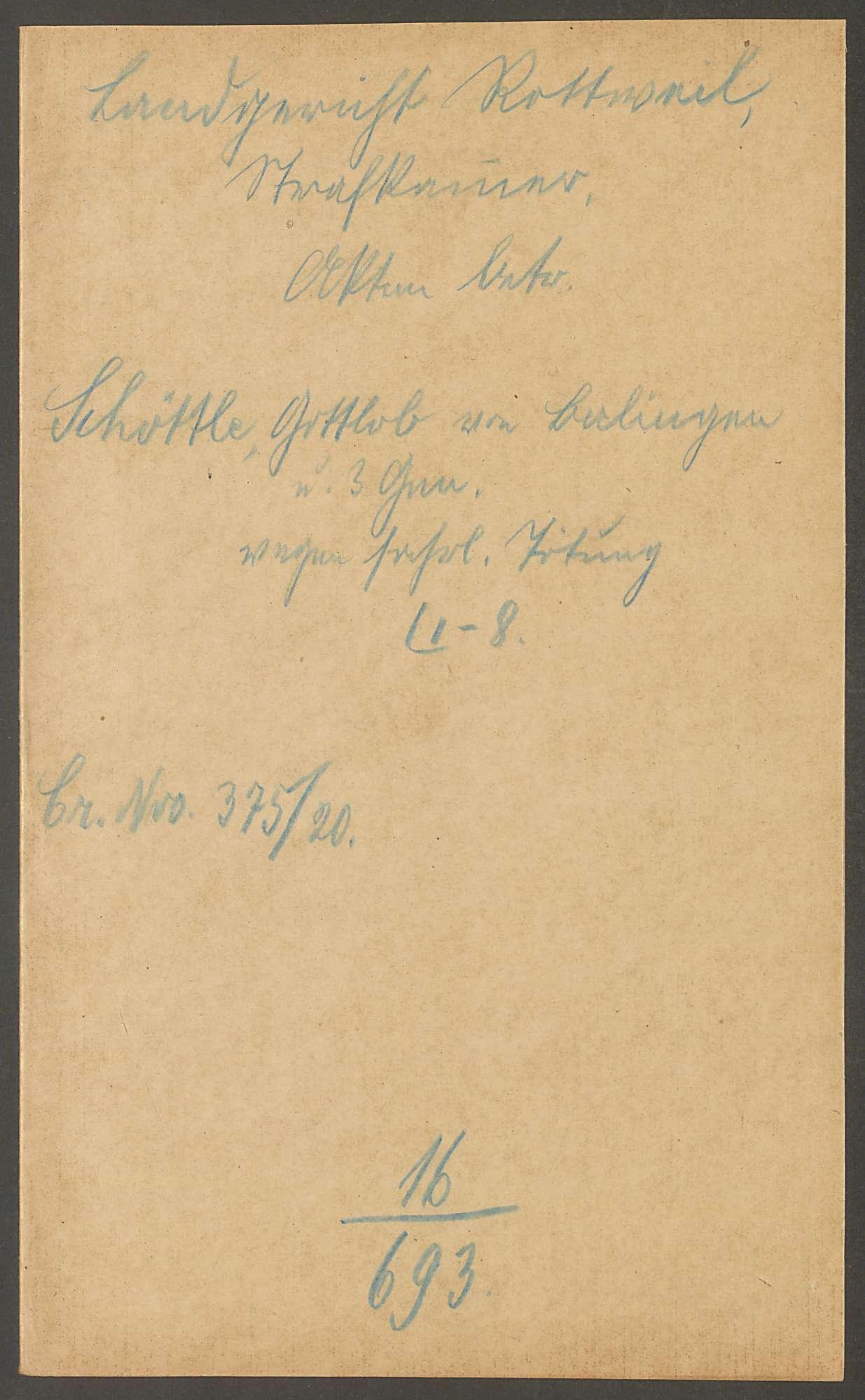 Schöttle, Gottlob, Bild 3
