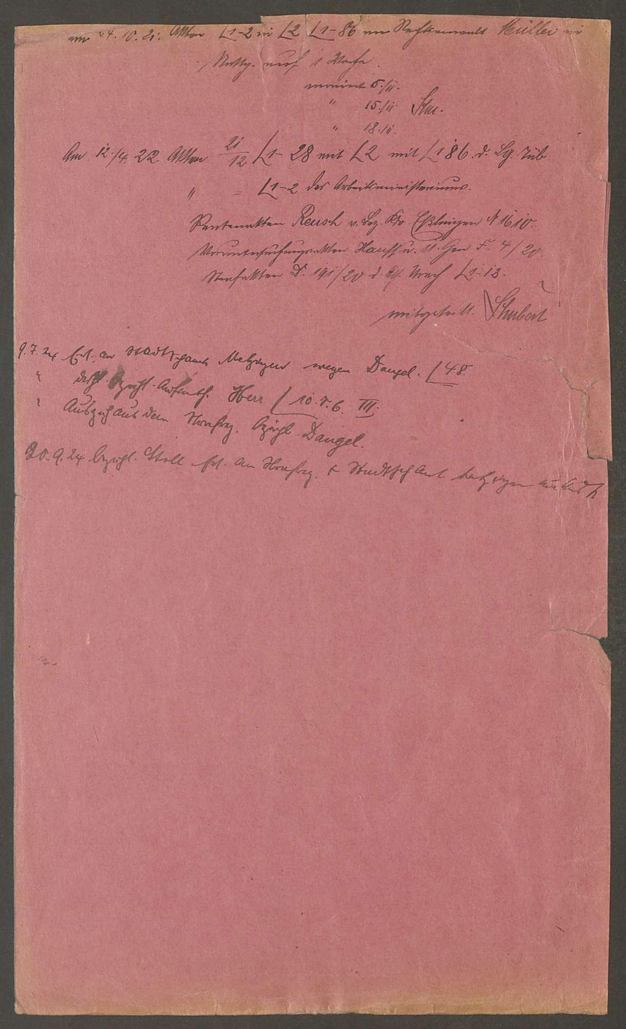Strafsache gegen den Schlosser Paul Kuhn von Metzingen Kreis Reutlingen und 17 Gen., Bild 3