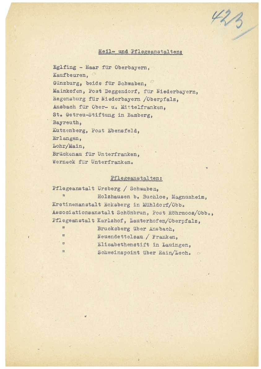 Amtsärztliches Gutachten Dr. Otto Mauthe betreffend Haftfähigkeit, Aufhebung des Haftbefehls Dr. Otto Mauthe durch das Oberlandesgericht Tübingen (18.07.1949), Haftbeschluss Dr. Martha Fauser (15.10.1948), Haftbeschluss Dr. Mauthe (24.11.1948) u.a. - Qu. 422-444, Bild 3
