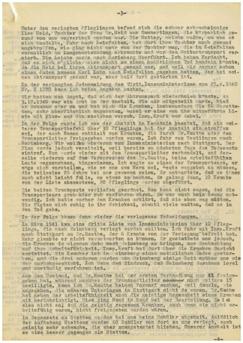 Zeugenaussagen - Anstalt Mariaberg, Paulinenpflege Winnenden, Bruderhäuser der Gustav-Werner-Stiftung, Bild 3