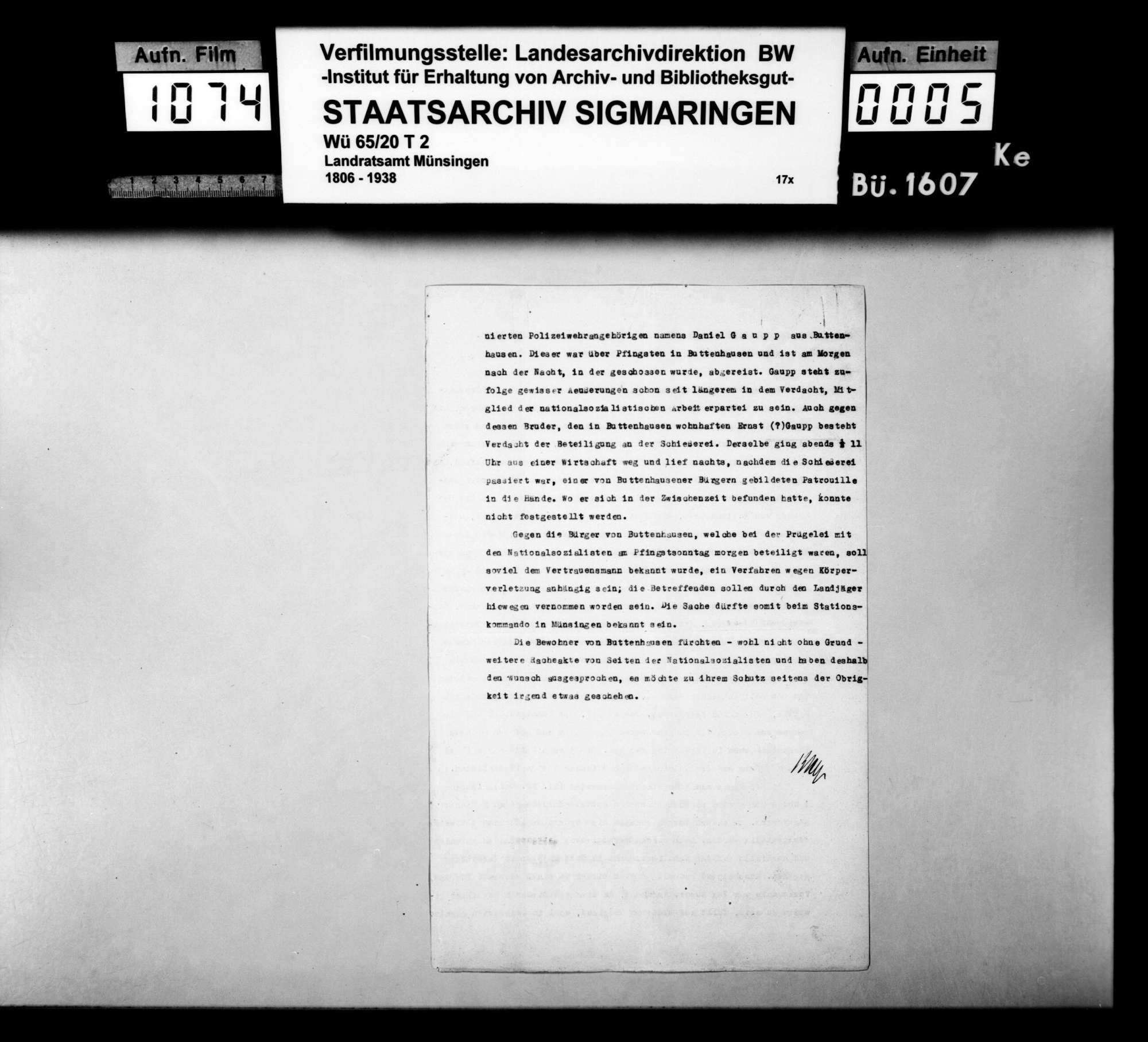 Nationalsozialistische Ausschreitungen gegen Juden in Buttenhausen, Bild 2