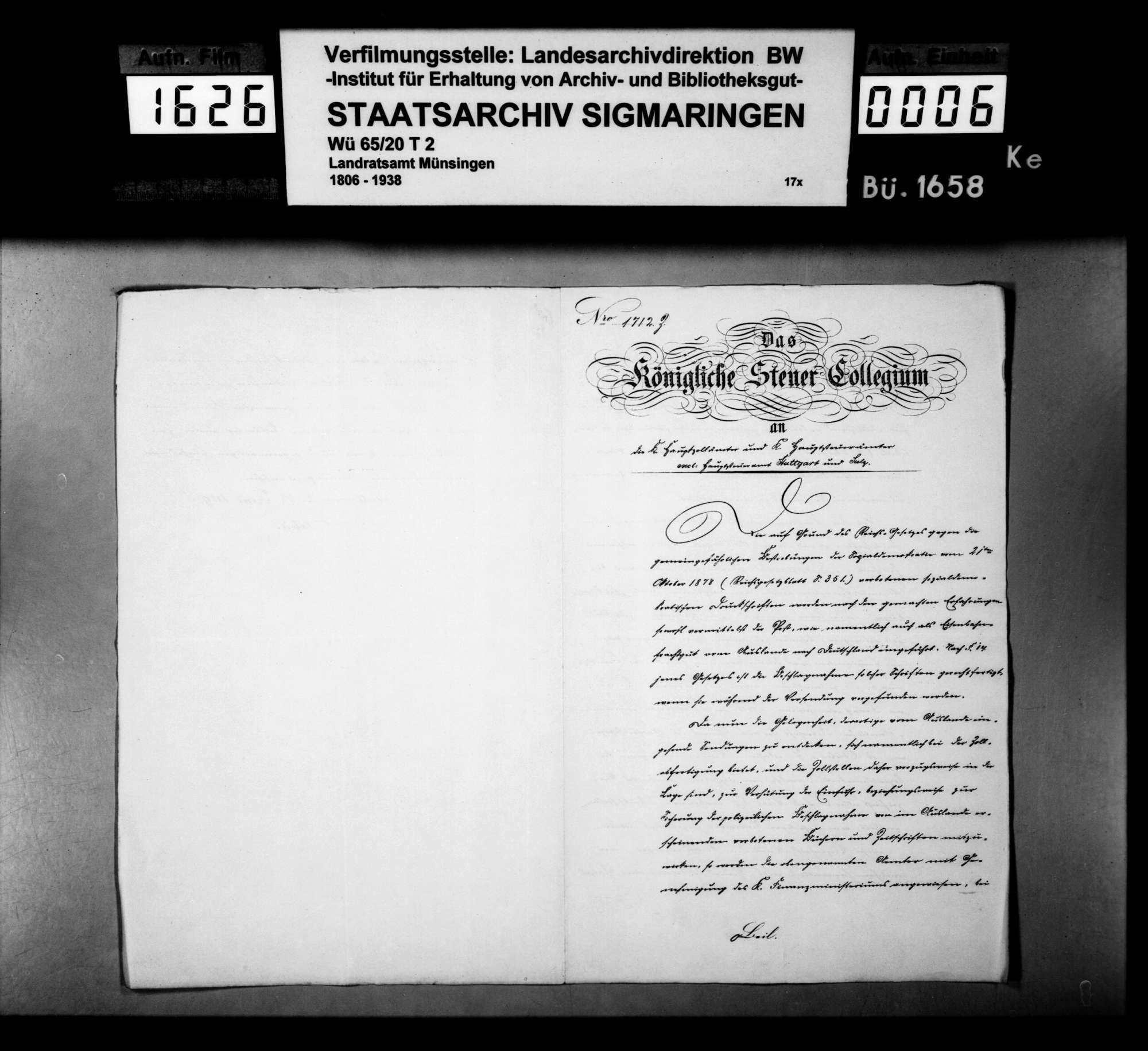 Von der Regierung übersandte Verzeichnisse von beschlagnahmten Druckschriften der Sozialdemokratie und der Anarchisten, Bild 2