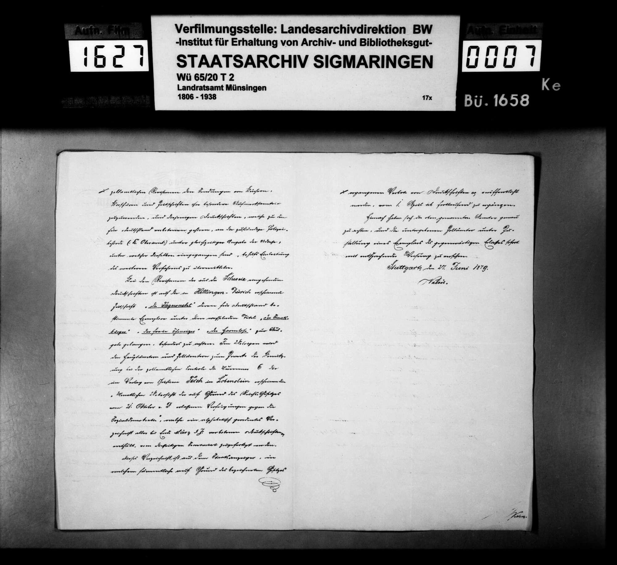 Von der Regierung übersandte Verzeichnisse von beschlagnahmten Druckschriften der Sozialdemokratie und der Anarchisten, Bild 3
