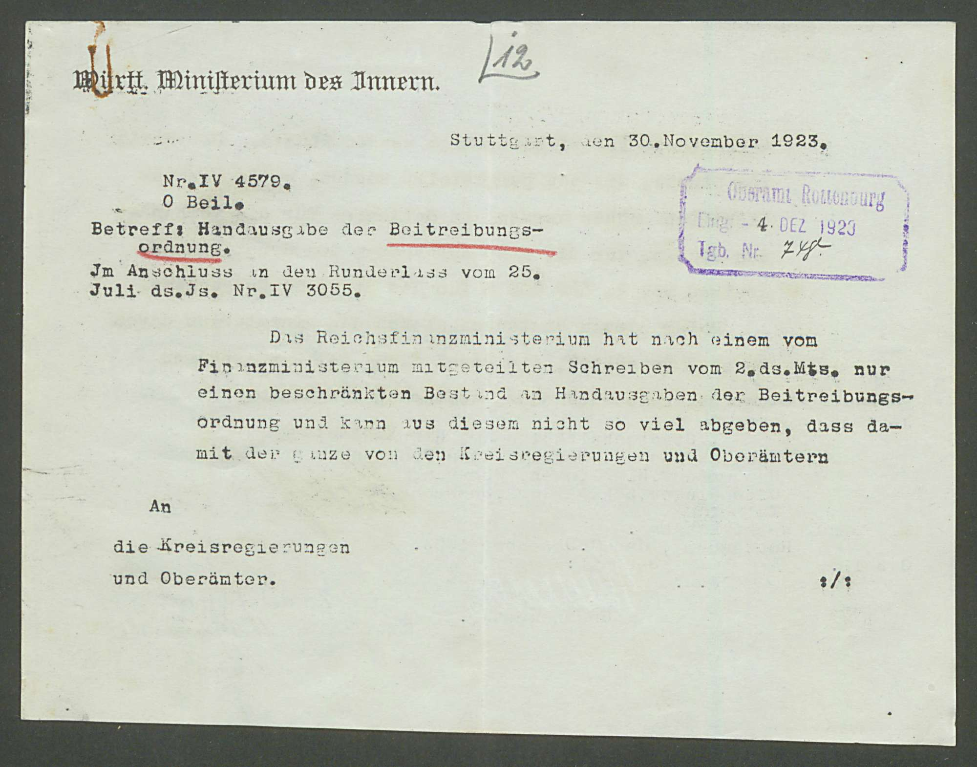 Aufsicht über die Presse: Zeitschriften und Wochenblätter, Bezirksamtblatt, Bild 3