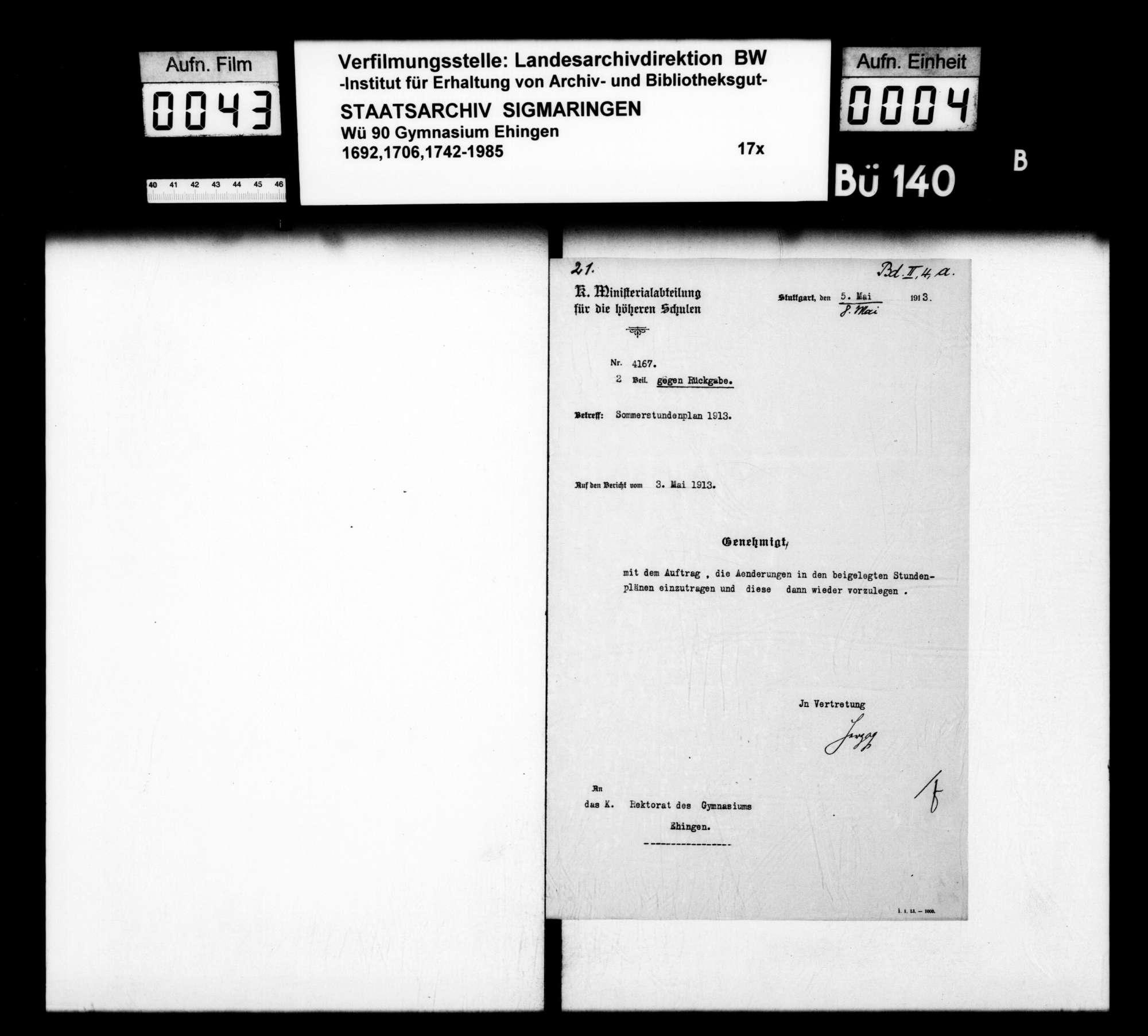 Materialien zur Schulgeschichte (v.a. Zeitungsberichte), Bild 2